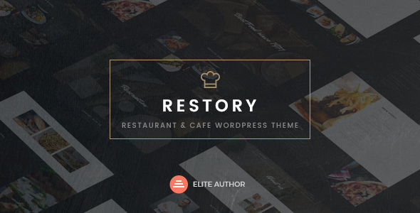 Restory - Restaurant & Cafe WordPress Theme - Food Retail