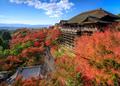Kiyomizu dera temple in autumn, Kyoto, Japan