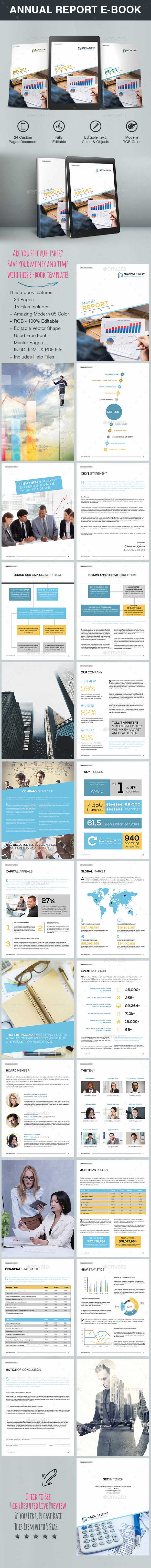 Annual Report E-Book Template - ePublishing