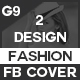 Black And White Fashion Facebook Cover - GraphicRiver Item for Sale
