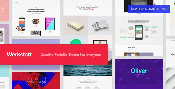 Werkstatt - Creative Portfolio Theme - Portfolio Creative