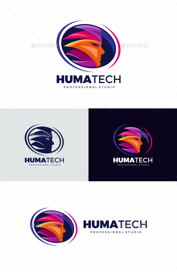 Face - Humans Logo Templates