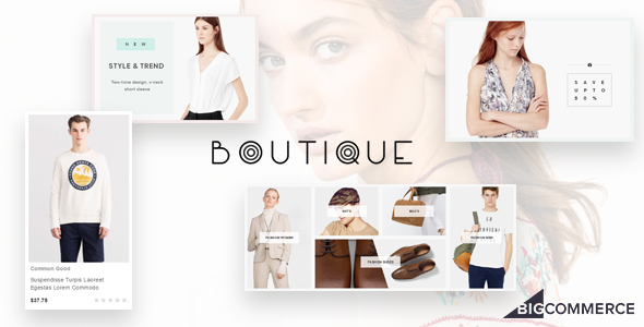 Ap Boutique Responsive Bigcommerce Theme Template - BigCommerce eCommerce