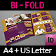 Catering Bi-Fold Brochure Template - GraphicRiver Item for Sale