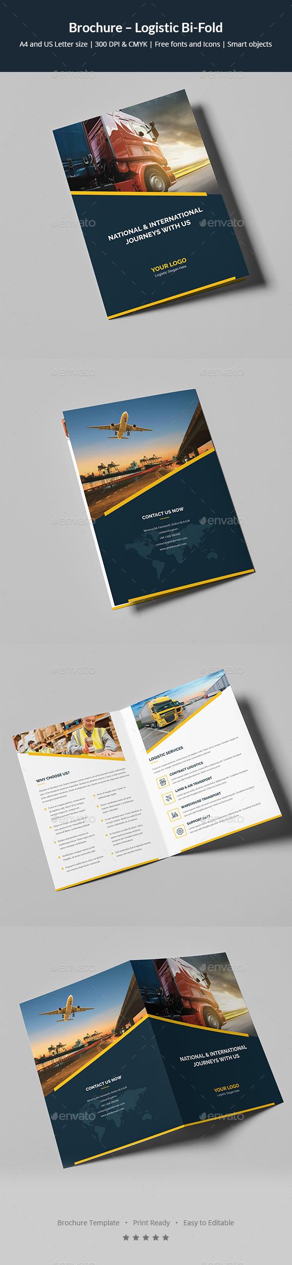 Brochure – Logistic Bi-Fold - Corporate Brochures