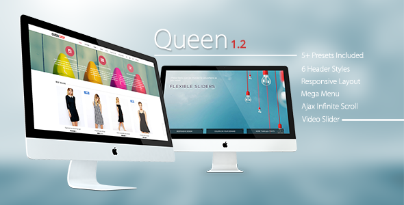 Queen - Responsive Shopify Sections Theme - Fashion Shopify