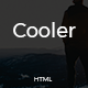 Cooler - Minimal Personal Portfolio Template Nulled