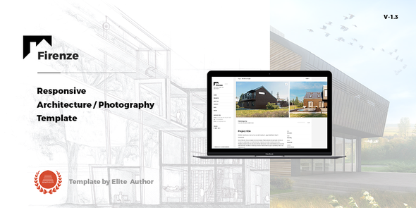 Firenze - Responsive  Architecture /  Architect Template - Business Corporate
