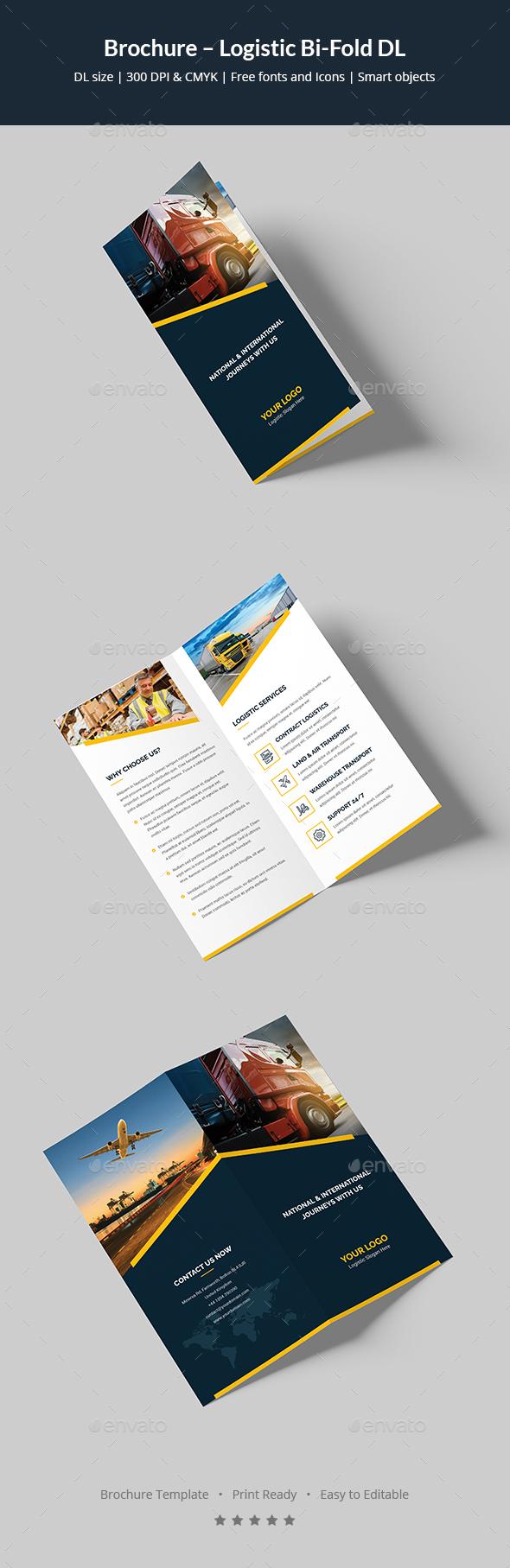 Brochure – Logistic Bi-Fold DL - Corporate Brochures