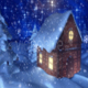Snowy House Scene - VideoHive Item for Sale