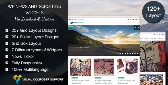 WP News and Scrolling Widgets Pro - WordPress News Plugin - CodeCanyon Item for Sale