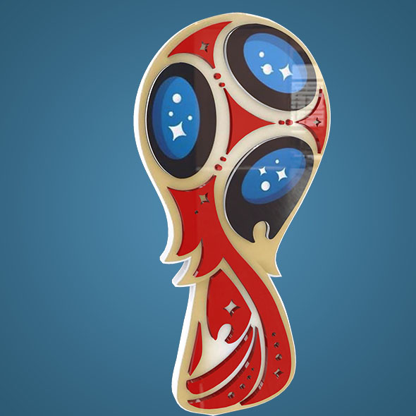 Fifa World Cup 2017 Logo 3D - 3DOcean Item for Sale