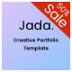 Jada - Creative Portfolio Template - ThemeForest Item for Sale