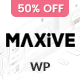 Maxive Minimal Portfolio WordPress Theme
