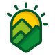Mountains Landscape Logo