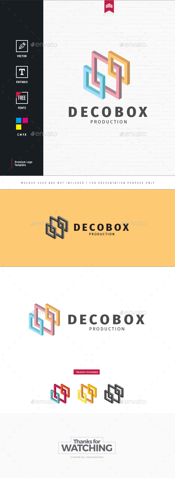 Decobox Logo - Objects Logo Templates