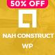 Nah Construction, Building Business WordPress Theme