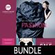 3 Fashion Poster Flyer Postcard Bundle - GraphicRiver Item for Sale