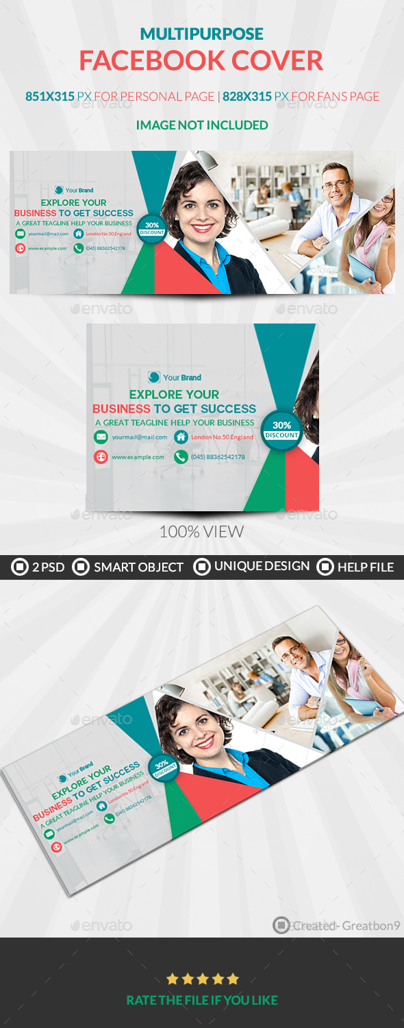 Successful Business Owner Facebook Cover - Facebook Timeline Covers Social Media