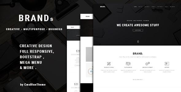 Brands - Creative Business WordPress Theme