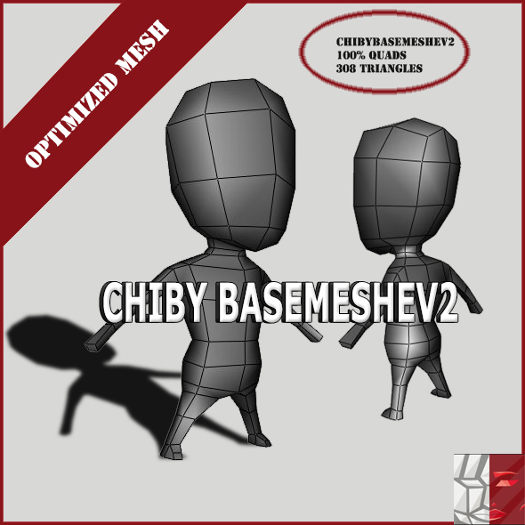 Chiby Basemeshe V2 - 3DOcean Item for Sale