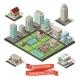 City Creation Isometric Set