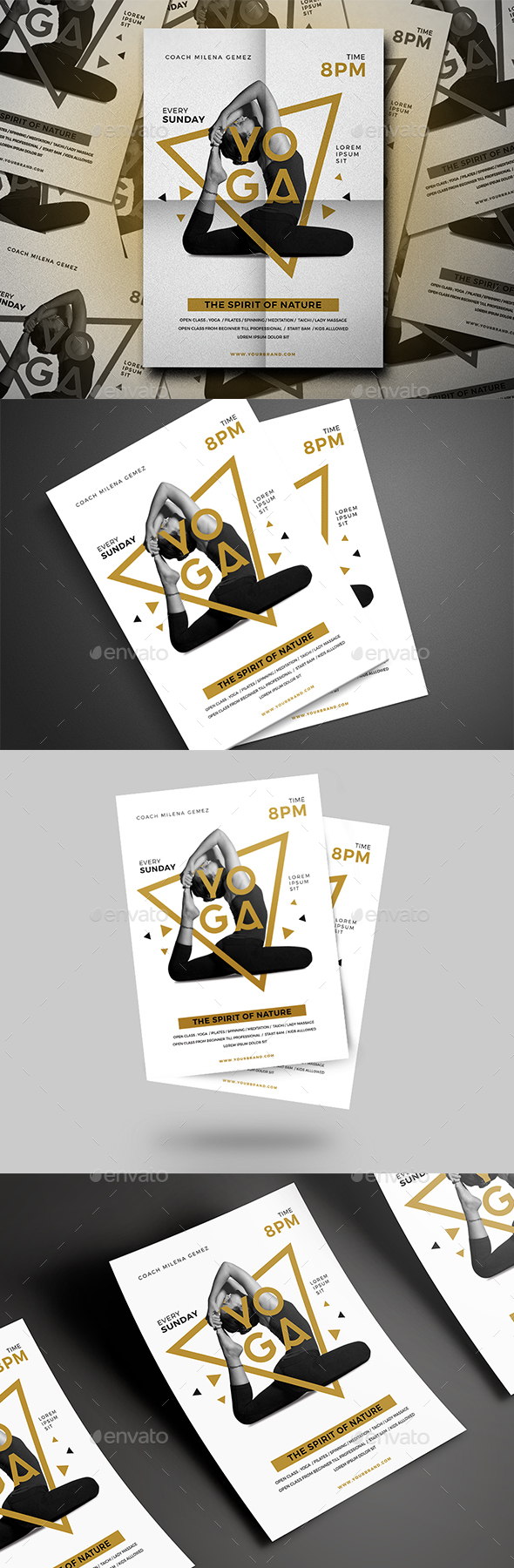 Luxury Yoga Flyer - Events Flyers