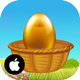 Eggs Catcher Happy Easter - iOS Xcode