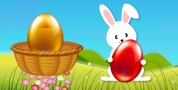 Eggs Catcher Happy Easter - BBDOC - FULL VERSION - CodeCanyon Item for Sale