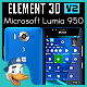 Microsoft Lumia 950 for Element 3D