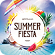 Summer Fiesta Flyer - GraphicRiver Item for Sale