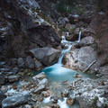 The mountain river with a waterfall. - PhotoDune Item for Sale