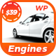 Engines ­- Automotive, Car Dealer, Vehicle, Dealership, Classifieds WordPress Theme Nulled