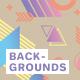 Simple Memphis Backgrounds Volume 2