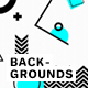 Simple Geometric Memphis Backgrounds - GraphicRiver Item for Sale