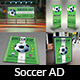 Soccer Advertising Bundle - GraphicRiver Item for Sale