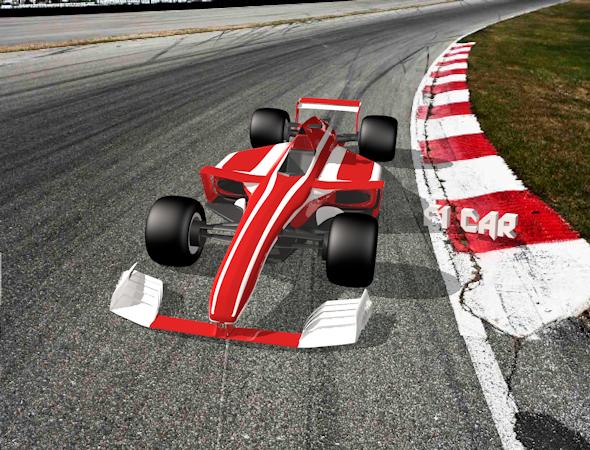 Formula One Car - 3DOcean Item for Sale