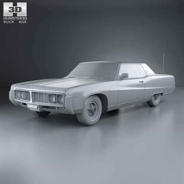 1969 Buick Electra 225 For Sale: Buick Electra 225 Custom Sport Coupe 1969 By Humster3d