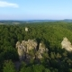Beutiful Aerial View of Cliff in Karpatian Mountains - VideoHive Item for Sale