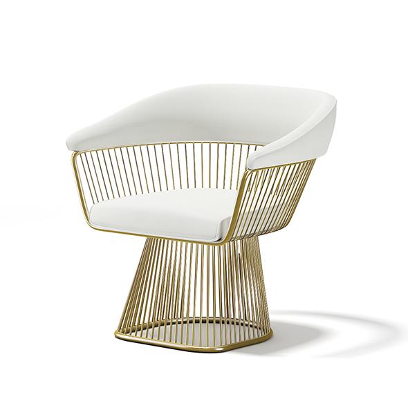 Metal Armchair - 3DOcean Item for Sale