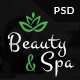 Beauty & Spa - Bootstrap PSD Template - ThemeForest Item for Sale