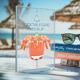 Cocktail Card in Sunny Scene - GraphicRiver Item for Sale