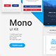 Mono UI Kit - Walkthrough - GraphicRiver Item for Sale