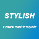 Stylish Powerpoint Presentation Template - GraphicRiver Item for Sale