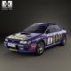 Subaru Impreza WRC (GC) 1993