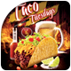 Taco Tuesday Flyer Template - GraphicRiver Item for Sale