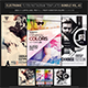 Electro Music Flyer/Instagram Bundle Vol. 44 - GraphicRiver Item for Sale