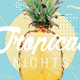 Tropical Nights Summer Psd Flyer