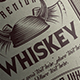 Vintage Label Whiskey v.2