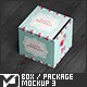 Square Box / Package Mock-Up 3 - GraphicRiver Item for Sale